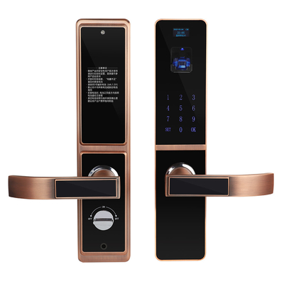 Bilateral Optical Finger Vein Recognition Highly Secured Biometric Smart Door Lock