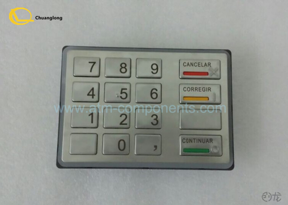 Diebold EPP ATM Keyboard Spain Version 49 - 216681 - 726A / 49 - 216681 - 764E Model