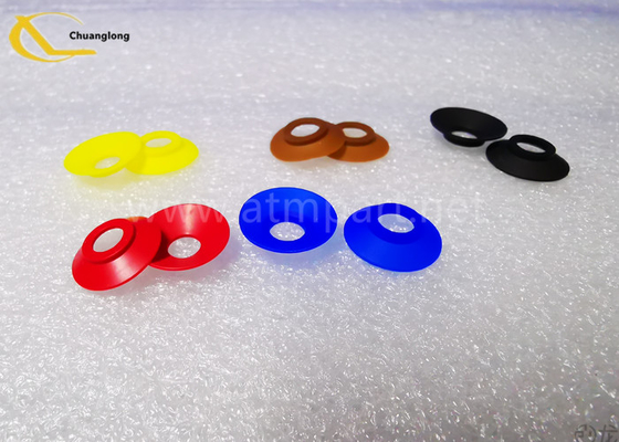 NCR S1/S2 Vacuum Suction Cup 2770009574 0090031376 0090026464 Rubber Suckers  yellow,/blue/red/black/brown atm parts